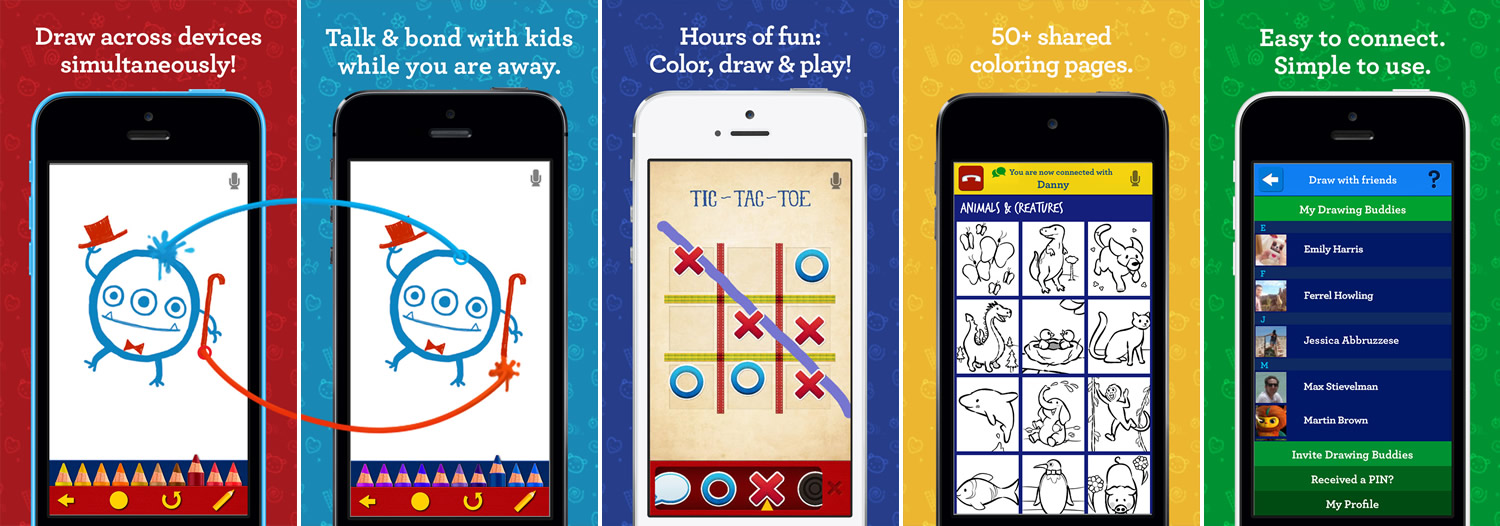 Tipitap Launches Drawing Together! for iOS - Collaborative
